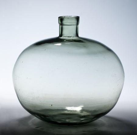Butelka szklana kulista; SzPW-153