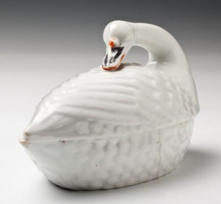 Porcelanowy łabędź; SzPW-170